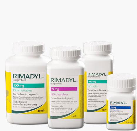 Rimadyl bottles